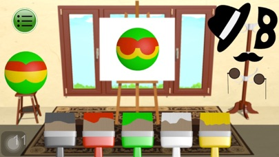 Face Coloring App