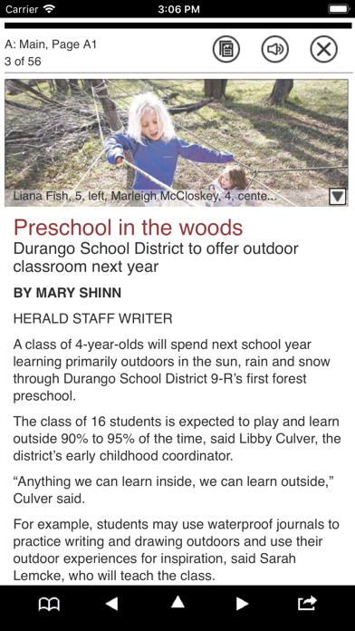 The Durango Herald E Edition screenshot two