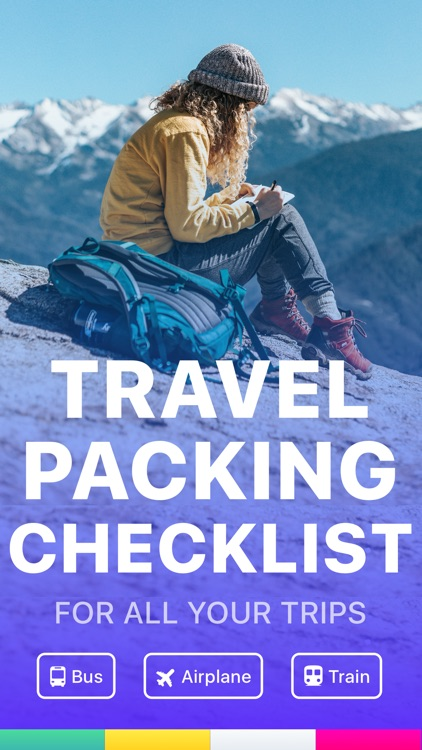Waymate:Packing List Checklist