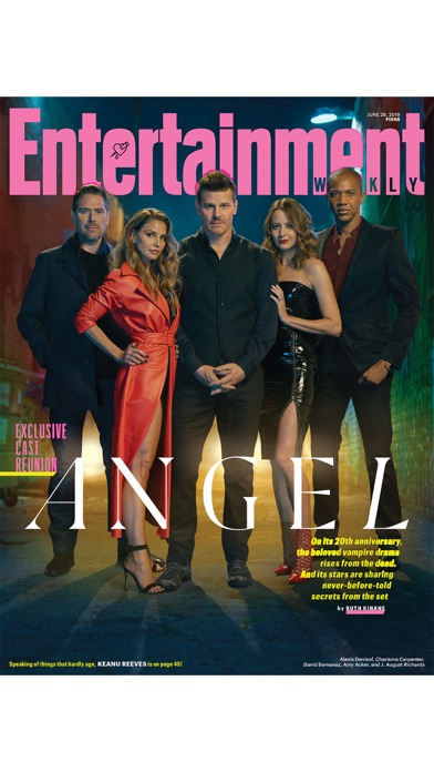 Entertainment Weekly Magazine Screenshot