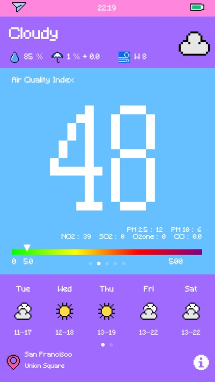 Pixel Weather - Forecast screenshot-4