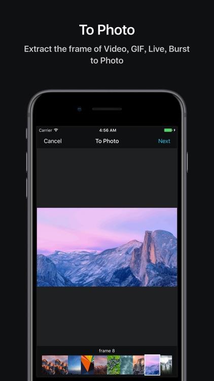 Pixact - Make GIF & Live screenshot-4