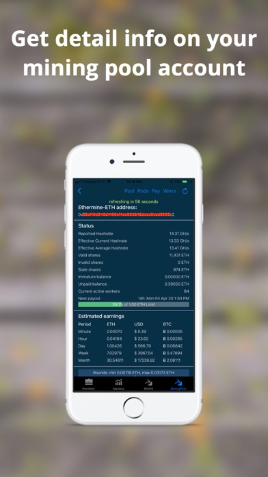 Ethereum Mining Monitor - 窓用
