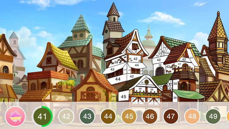 Fun Coloring - Color By Number screenshot-9