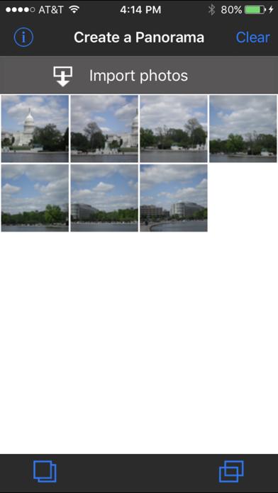 Panorama Mosaicker Screenshot 1