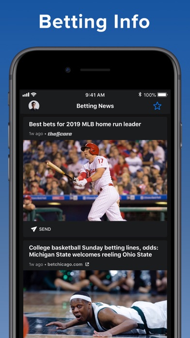theScore: Sports News & Scores screenshot four