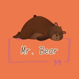 Mr. Bear Stickers