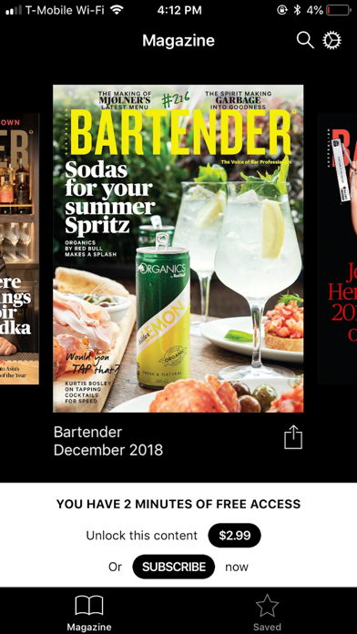 Screenshot for Australian Bartender in Finland App Store