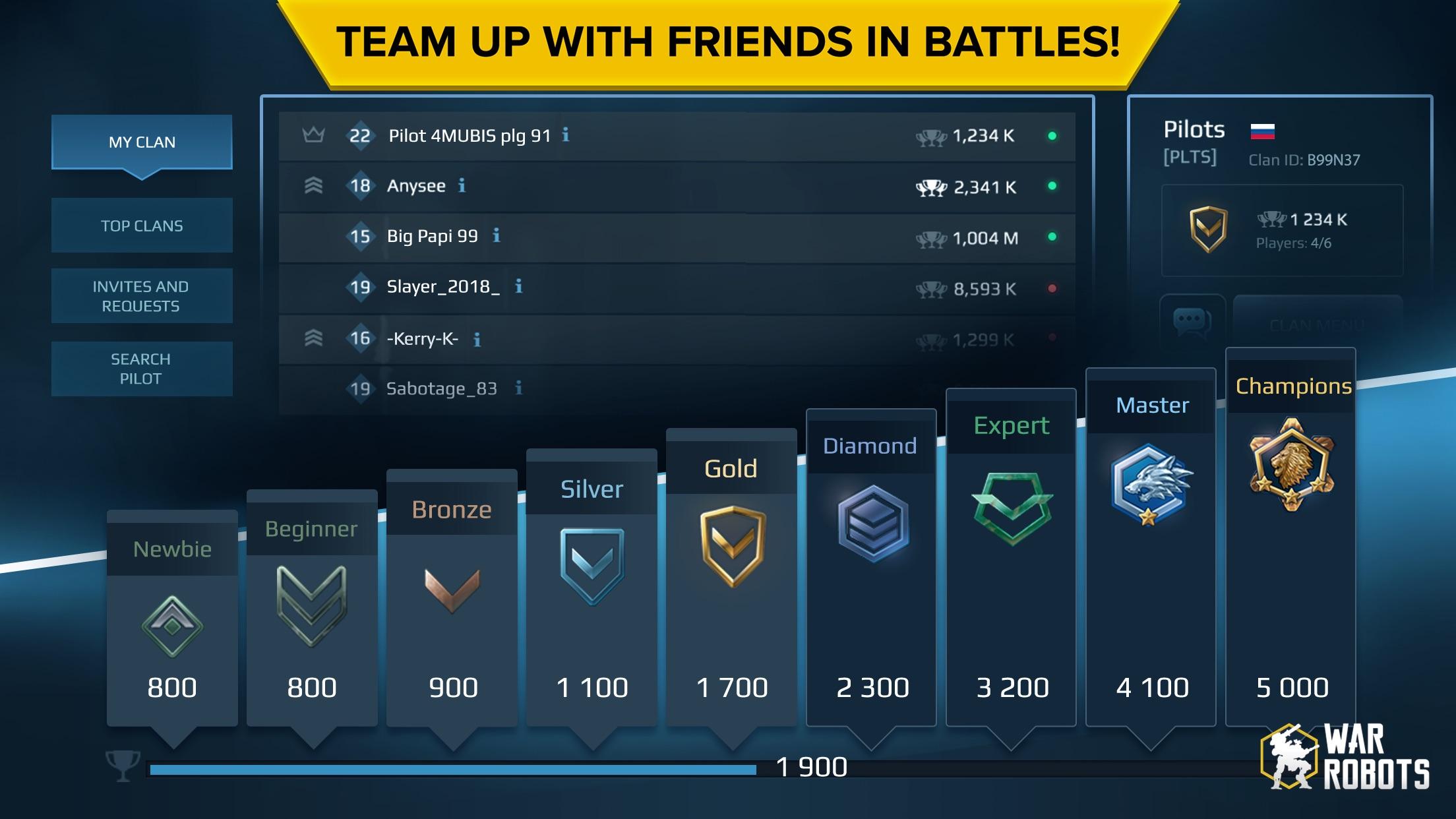 War Robots Multiplayer Battles Screenshot