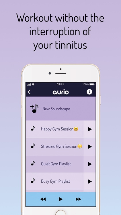 Tinnitus Relief by Aurio screenshot-4