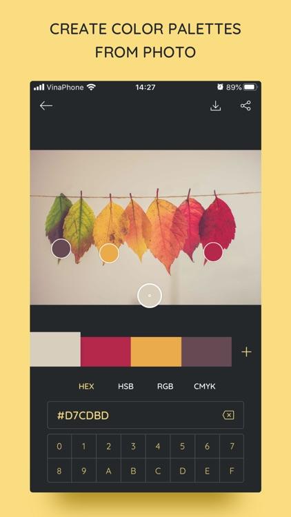 iPalettes - Color palettes