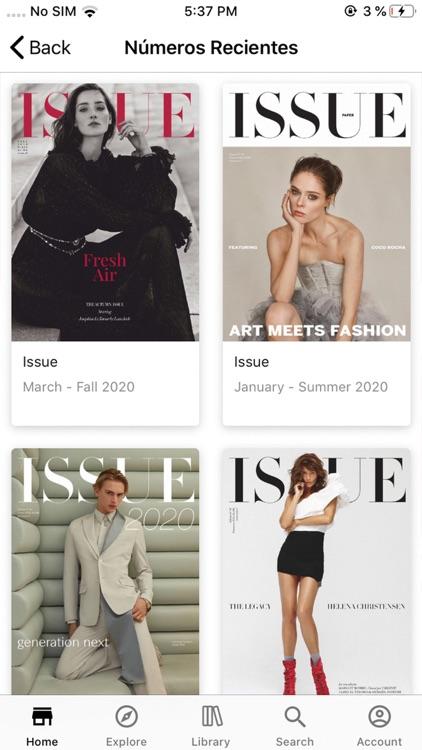 Issue Revista