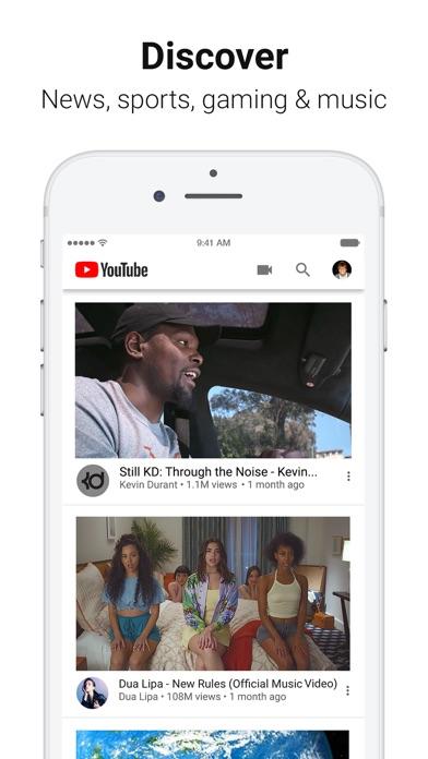 Youtube review screenshots
