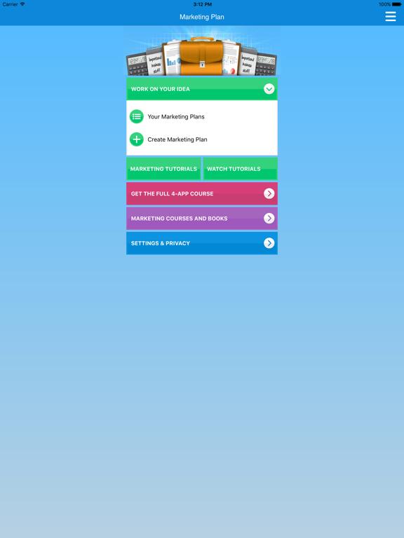 Marketing Plan & Strategy: SEO, Social Media Marketing & Advertising screenshot