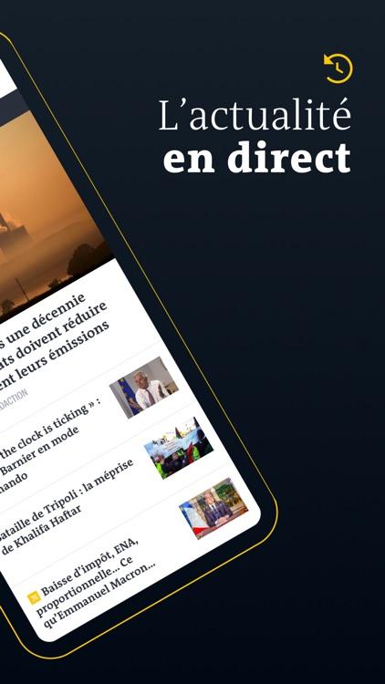 Le Monde, Actualités en direct