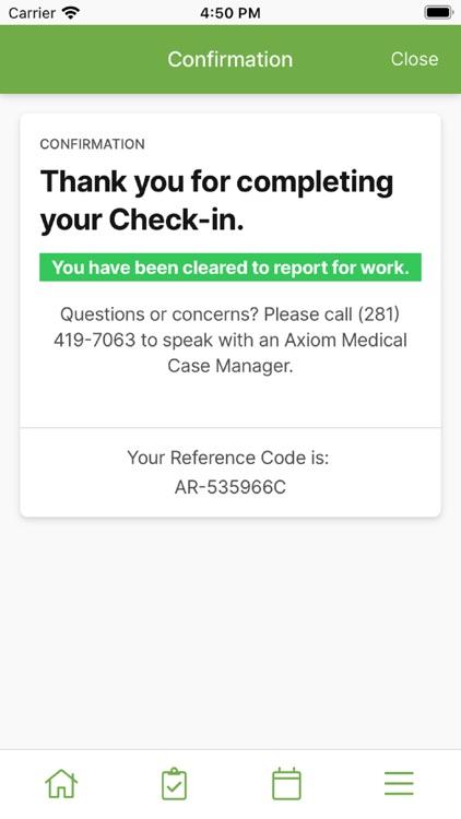 CheckIn2Work screenshot-3