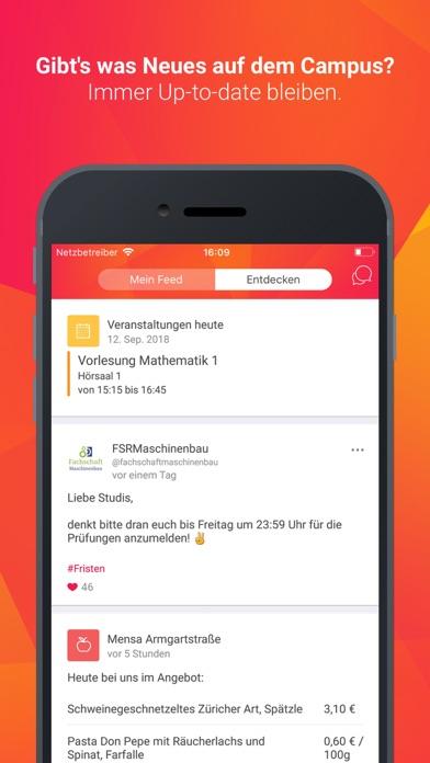 Screenshot for UniNow - Studium & Karriere in Germany App Store