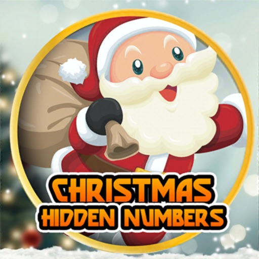 Christmas Hidden Numbers Games