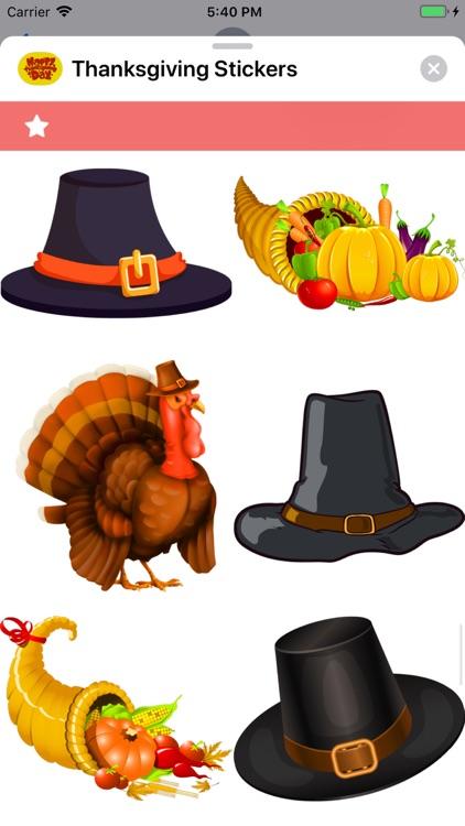 Thanksgiving Stickers screenshot-7