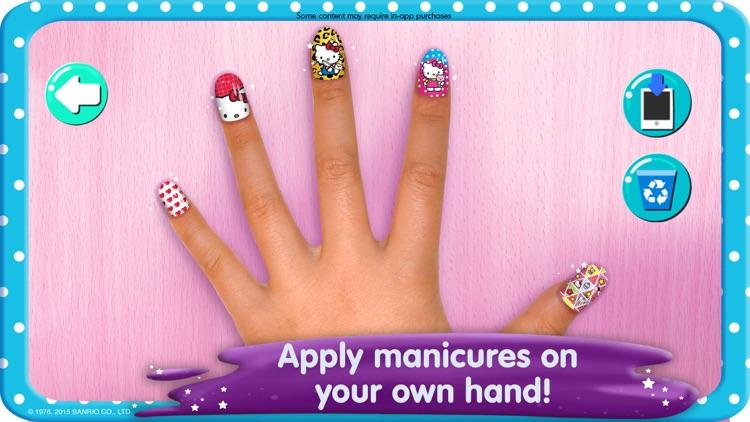 Hello Kitty Nail Salon screenshot-3