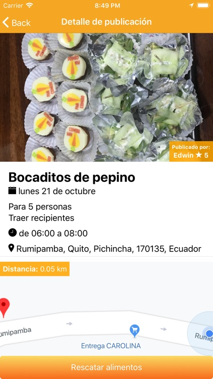 PanComido App screenshot-2