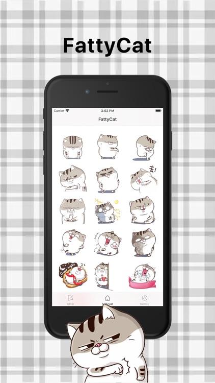FattyCat-Sticker