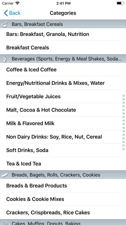 CalorieKing Food Search screenshot-3