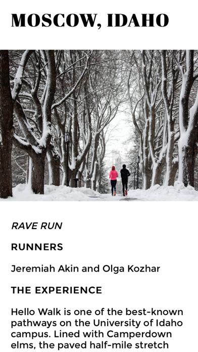 Runner's World Screenshot