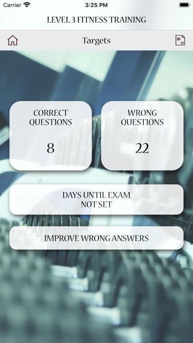 Level 3 Fitness Training Test screenshot 7