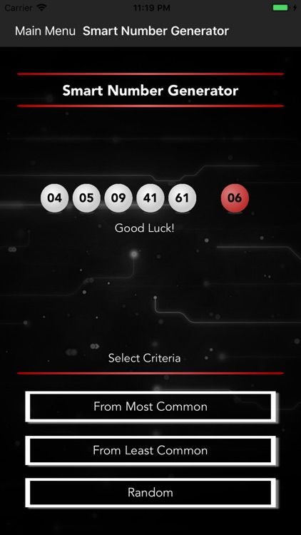 Smart Numbers for Powerball screenshot-4