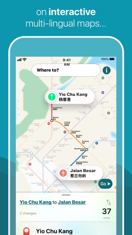 Singapore Metro Map & Planner screenshot-2
