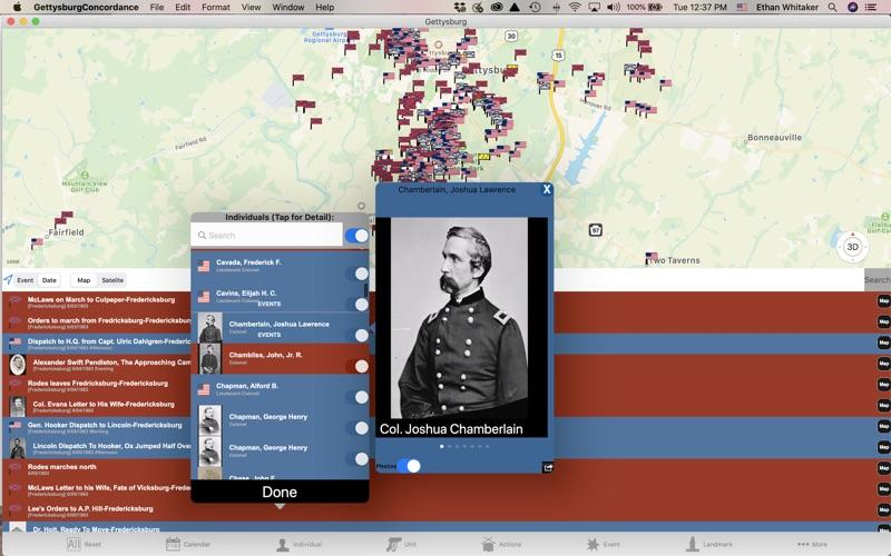 Gettysburg Concordance for Mac