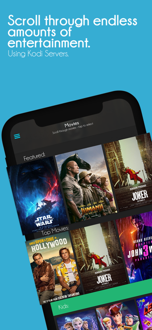 ‎Box for Kodi - Movies & TV Screenshot