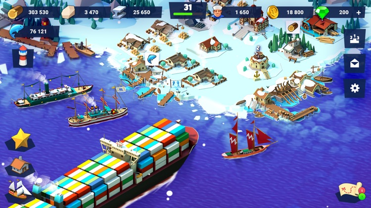Sea Port: Ship Tycoon Strategy screenshot-3