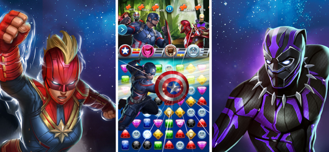 ‎MARVEL Puzzle Quest: Hero RPG Screenshot