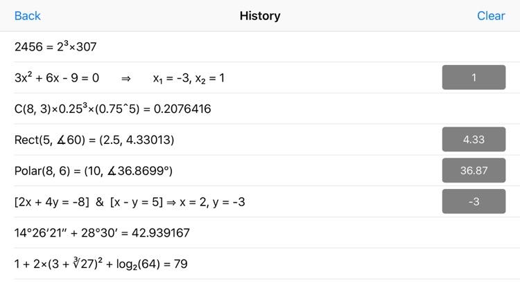 Statistics Calculator++ screenshot-9