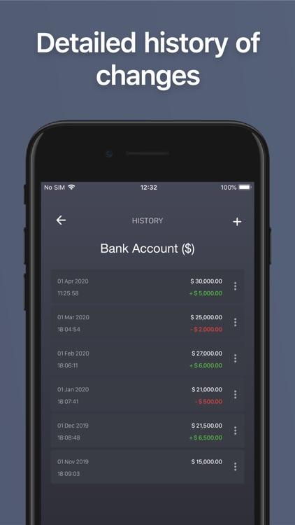 Net Worth - BalanceViewer screenshot-5