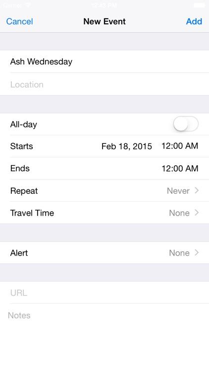 Holidays Countdown screenshot-3