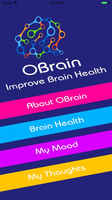 OBrain: Improve Brain Health screenshot #1