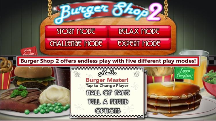 Burger Shop 2 Deluxe screenshot-4