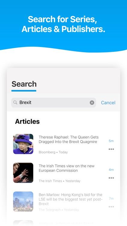 Noa: Listen to news articles screenshot-7