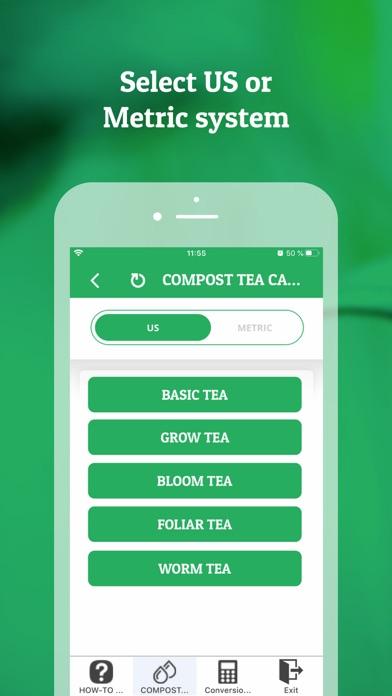 Compost Tea Calculator Screenshot