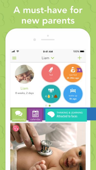 Screenshot #1 pour Ovia Parenting & Baby Tracker
