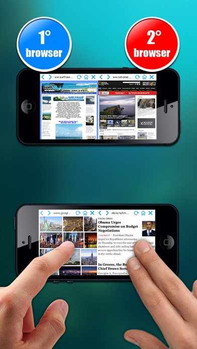 Double browser Pro 2 in 1 Screenshots