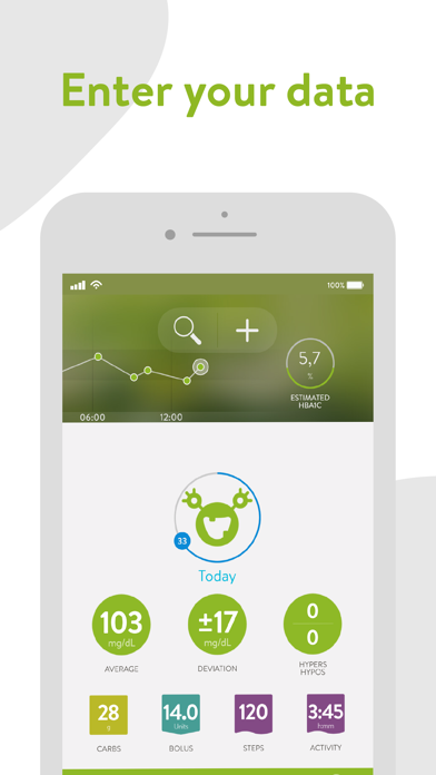 mySugr - Diabetes Tracker Logのおすすめ画像1