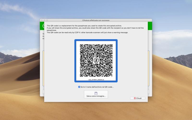 CZIP X - encryption tool скриншот программы 6