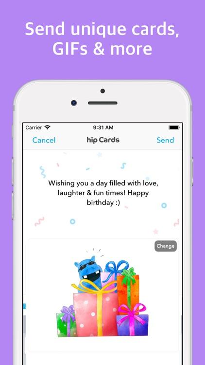 hip: Birthday Reminder App screenshot-3