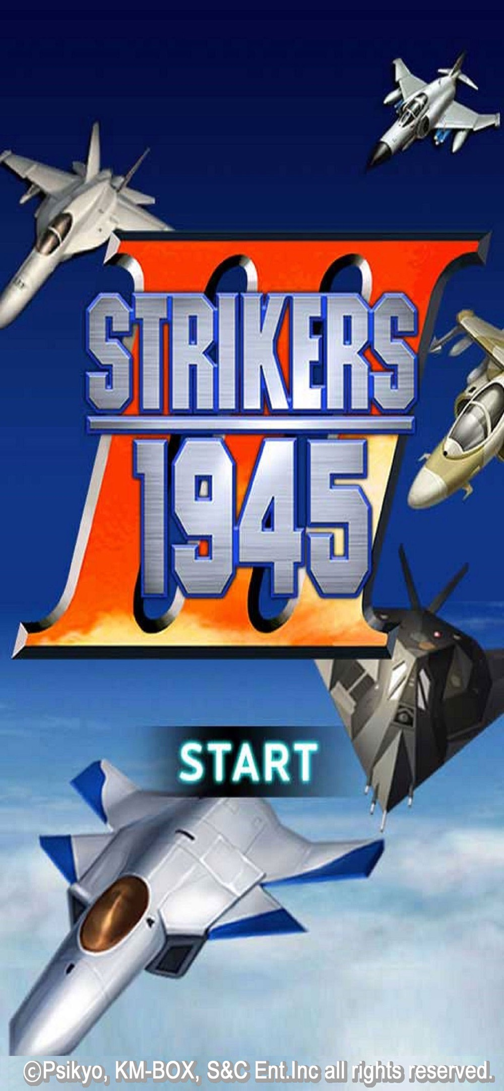 STRIKERS 1945-3 Cheat Codes