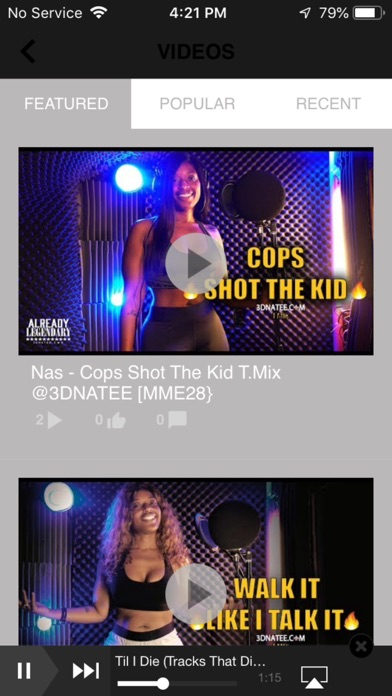 The Official @3dnatee App review screenshots