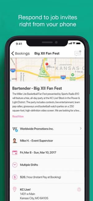 PopBookings on the App Store